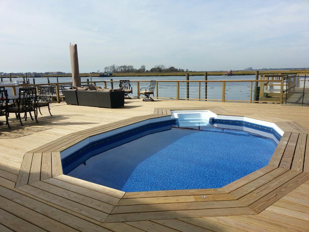 Aquasport With 4 Foot Inground Step Longislandswim